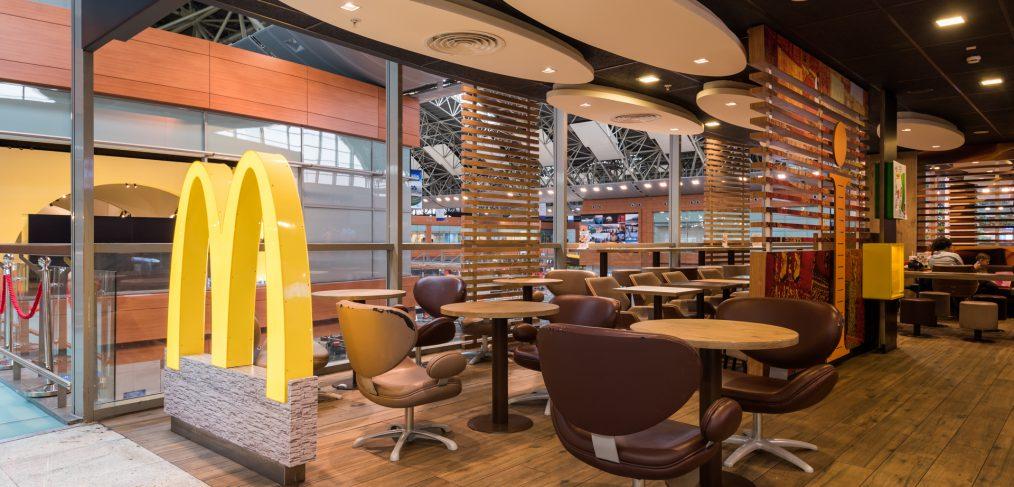 McDonald's Restoran Fotoğraf Çekimi