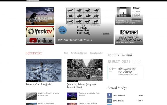 İFSAK WEB Sitesi